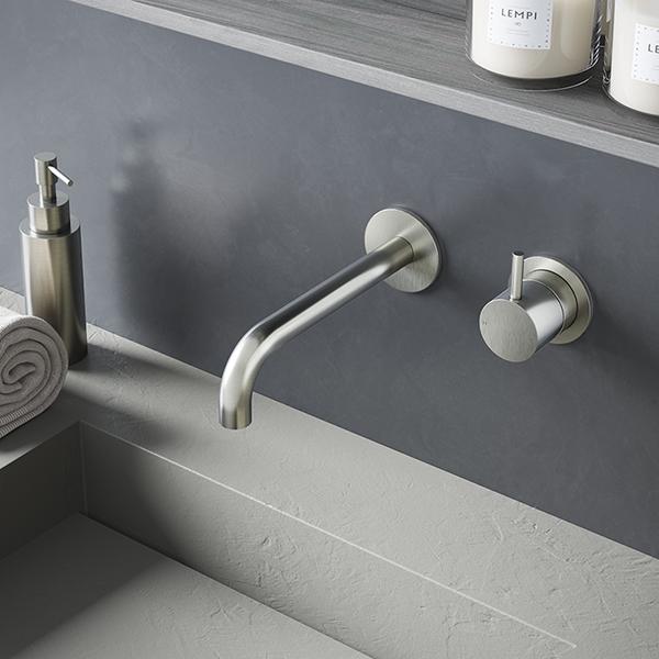 Zeer Hotbath Cobber - Wandkraan met inbouwsysteem - Stone Company MQ96